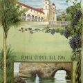 Promotional booklet for Santa Barbara, CA, published by the Chamber of Commerce