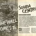 """""""Stonewall Comes to South Central,"""" BLK, Volume 4, Number 3, pages 16-17"""