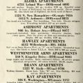Los Angeles Apartments and Hotels brochure.