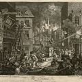 The Times - Plate 1 - Third State, September 1762. Dr. Leon Kolb William Hogarth Engravings Collection.
