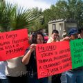 Demonstration against kidnappings by the army, Juárez, 2008