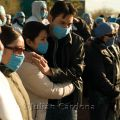 Medical professionals stage a protest against rampant kidnappings, extortions, armed assaults and robberies suffered by the community, Juarez. 2008