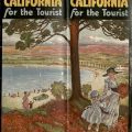 California for the Tourist brochure