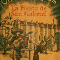 Official Program, La Fiesta de San Gabriel, 1940