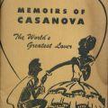 Cover of Memoirs of a Cassanova: The World's Greatest Lover. Emanuel Haldeman-Julius Little Blue Books Collection.