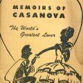 Cover, Memoirs of Casanova: The World's Greatest Lover