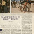 "Saturday Evening Post article, ""Boardinghouse of Broken hearts,"" September 19,1953."