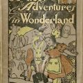 Cover,  Alice's Adventures in Wonderland, 1904.