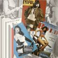 Collage of Betty Page photographs, page 4, in Betty Page: Queen of Pin-Up. TR678 .H45 1993