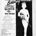 Handbill for the Miss Tarzana Beauty Pageant, 1976