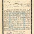 Birth certificate of Antonio Regalado Calvo, April 8, 1946