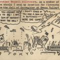 Anti-Japanese propaganda postcard sent to Reverend Wendell L. Miller, May 6, 1942