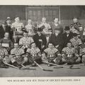 "Photograph of an ice hockey team from ""The Art of Skating,"" New York: Charles Scribner's Sons, 1926: 237. (GV 849 B82 1926)"