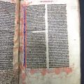 Page from Manuscript Bible, [1260]