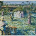 "David Botello, ""Wedding Photos—Hollenbeck Park,"" Giclée print, 2004"