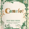 """Program cover, """"Camelot,""""July 1965. Nick and Faye Mayo Valley Music Theatre, Inc. Collection."""