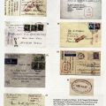 Examples of cards and letters sent from various camps