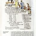 Poster showing sewing services at Weihsien, in Captives of Empire: The Japanese Internment of Allied Civilians in China, 1941-1945 by Greg Leck. DS777.53 .L4 2006