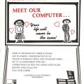 """Meet Our Computer"" career placement flier"