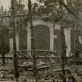A German crypt, possibly a surveillance photo, circa 1918. American Expeditionary Forces Photograph Album.