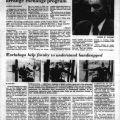 """""""Cleary to visit China, help arrange exchange program,"""" Daily Sundial, March 5, 1981"""