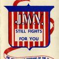 """J.W.V. Still Fights for You"" brochure cover, 1947"