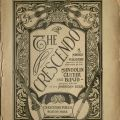 The Crescendo, vol. 1, no. 1, July 1908.