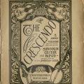 The Crescendo, vol. 1, no. 1, July 1908.
