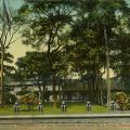 Postcard of Estado Mayor, headquarters of the Department of Luzon, U.S. Army, Manila, Philippines, ca. 1910. Donald Hiram Stilwell Photograph Collection