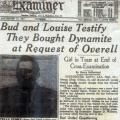 News clipping: Gollum and Overell fought murder charges from the witness stand