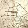 Map of Van Nuys, in Van Nuys (within Los Angeles) California: The Hub of the San Fernando Valley, 1922
