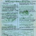 Fact Sheet, Santa Monica Mountains, with Sue Nelson marginalia