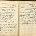 Diary entry for February 19, 1945