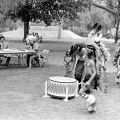 Fernandeno Tataviam Tribe members at San Fernando Mission, 1974