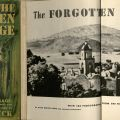 The Forgotten Village, with 136 Photographs From the Film of the Same Name, by Rosa Harvan Kline and Alexander Hackensmid, story by John Steinbeck, first edition, 1941. Dust jacket front cover and title page. F1210 .S7