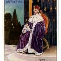 "A character from the Gilbert and Sullivan opera, ""The Gondoliers,"" appearing on a Player's Cigarettes advertising card. HF5851.G44"