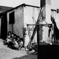 Six children sitting outside a small home at 1746 E. 41st St. in the industrial city of Vernon, five miles south of Downtown Los Angeles.