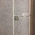 Sermones de t[em]p[or]e et de sanctis. A woodcut initial letter. BV 4254.3.B47 1495