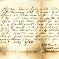 Promissory note, 1860