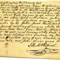 Free status affidavit for Lilly Scott and sons, 1822