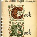 Cover, Junior League of Memphis Cook Book. TX715 .J863 1952