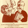 Playbill, The Gilbert & Sullivan Story. Gilbert and Sullivan Playbill Collection