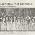 Preparing for Disaster, photo from the Los Feliz Observer. Los Feliz Improvement Association Records.
