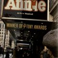 Image of Mike Nichol's musical, Annie, on Broadway from the book, Broadway Musicals, ML1711.8.N3 G68 1984