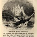 "Illustration captioned ""Greenlander spearing the Narwhal"" from ""Winter in the Arctic Regions,"" London: Society for Promoting Christian Knowledge, 1846: 23. (G 630 B7 W55 1846)"