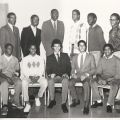 Group photograph from the 1983 Achiever program for young men.