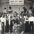 1977 group photograph from the Angel City Chapter International Festival
