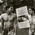 """Brandon Teena should have been here,"" Gay Pride Parade, New York, 1995. The Gender Frontier, HQ 77.9 .A32 2003"