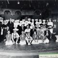 """Cast photograph, """"The Sound of Music,"""" July 6, 1964. Nick and Faye Mayo Valley Music Theatre, Inc. Collection."""