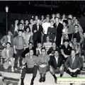 "Cast photograph, ""West Side Story,"" November 24, 1964. Nick and Faye Mayo Valley Music Theatre, Inc. Collection."